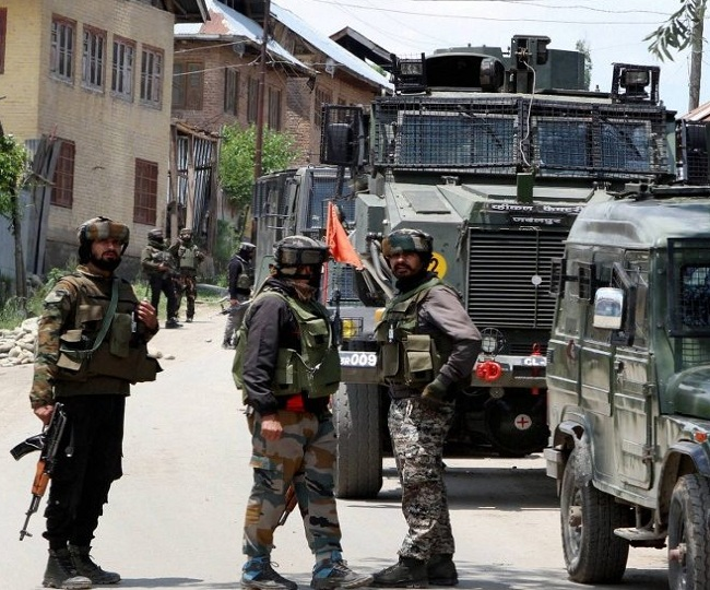 J-K: 3 terrorists, holed up inside a house, killed by security forces in Srinagar's Zadibal