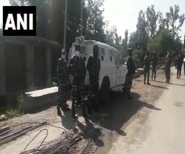 Five terrorists killed in encounter with security forces in Jammu and Kashmir's Shopian
