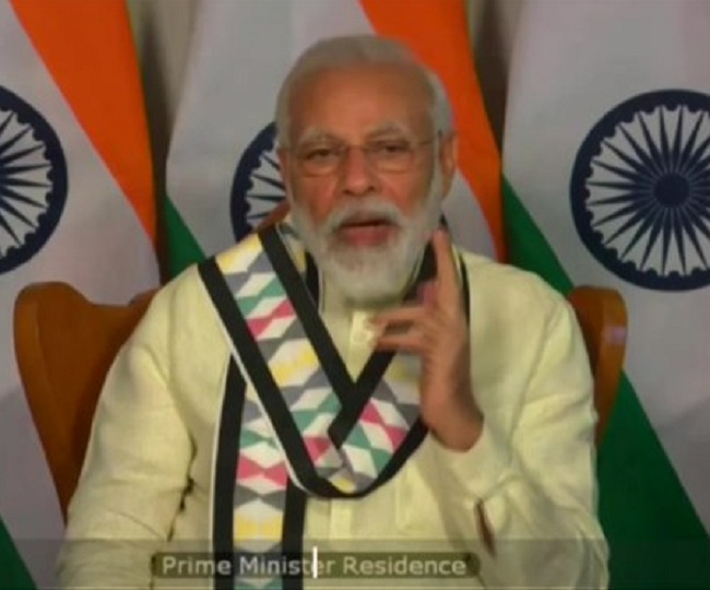PM Modi pushes for 'Aatma Nirbhar Bharat', says need to turn COVID crisis into 'turning point'