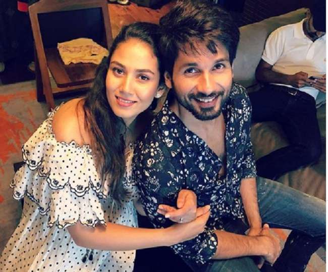 Shahid Kapoor's cute picture with wife Mira is 'all what we need on a rainy winter evening', check out