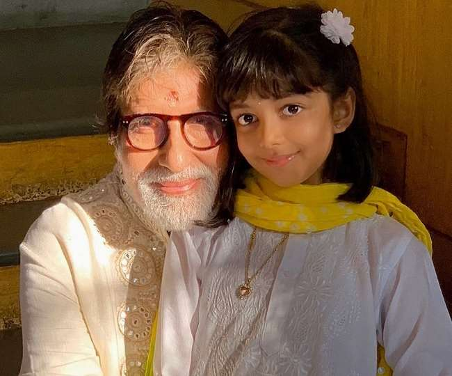 Amitabh Bachchan shares fan-made collage of Aaradhya's pictures as she turns 9 and you just can't miss it, check out