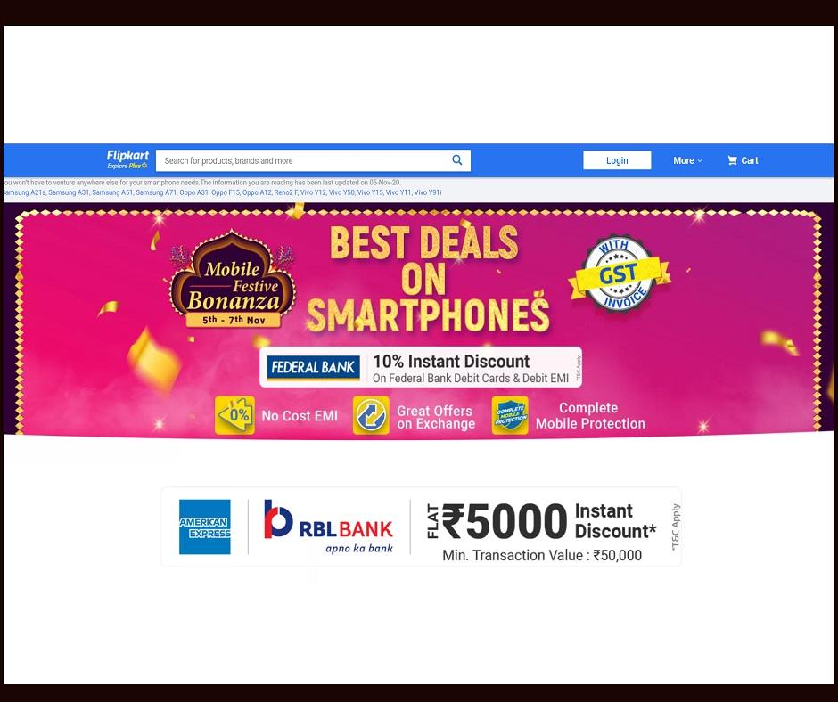 Flipkart's Mobile Festive Bonanza sale begins: Grab amazing deals and attractive offers on these premium smartphones