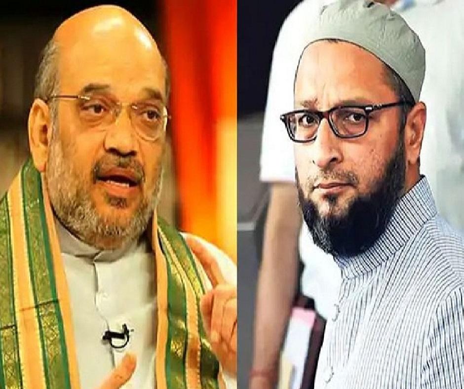 GHMC Elections: It's Amit Shah vs Asaduddin Owaisi on illegal Rohingya, Bangladeshi refugees