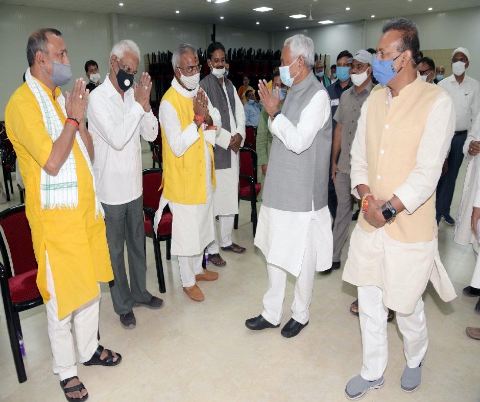 Nitish Kumar tenders resignation as Bihar chief minister to Governor Phagu Chauhan