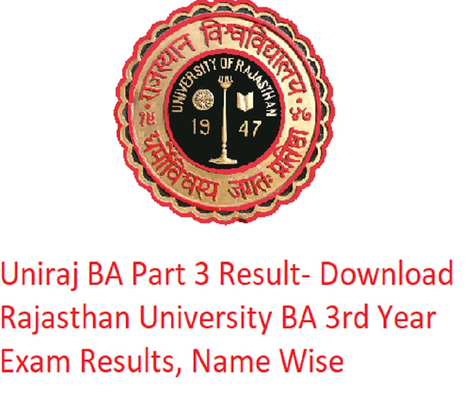Rajasthan University BA part 3 result 2020 declared; easy steps to check here