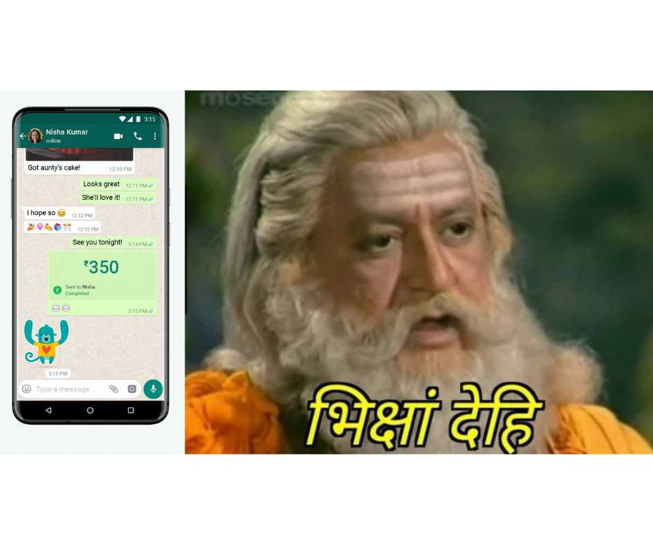 'Bhiksham Dehi': WhatsApp Pay goes live for Indian users and Twitter is flooded with ROFL memes. See Posts