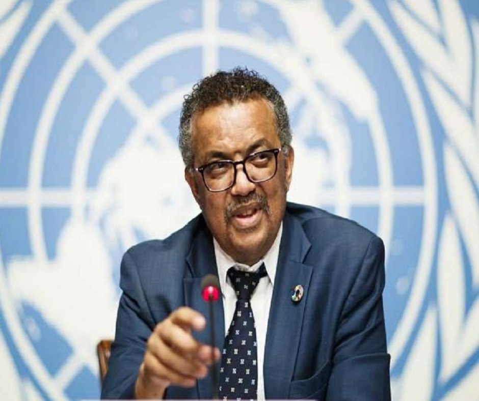 WHO chief Tedros Adhanom Ghebreyesus, contact of a Covid-19 positive, goes into self-isolation