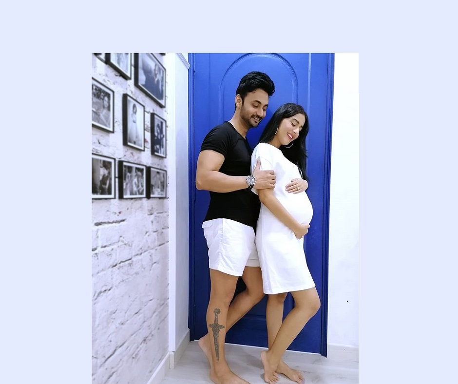 Amrita Rao and RJ Anmol are open to name suggestions for the baby boy. What do you propose?