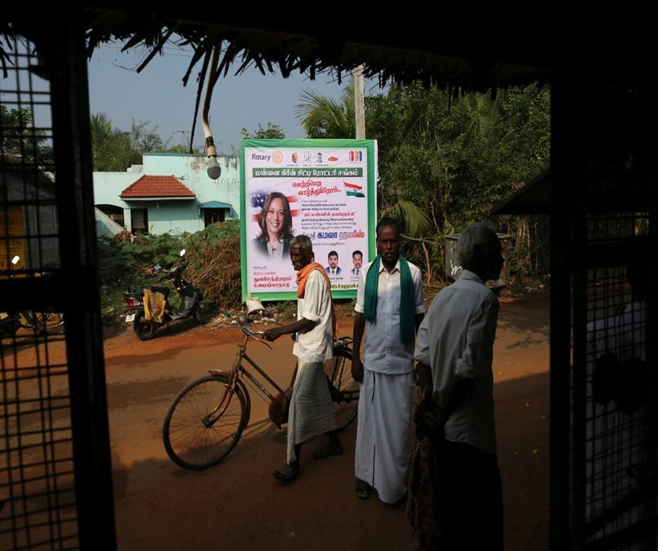 Tamil Nadu: Kamala Harris's ancestral village prays for her victory in US polls