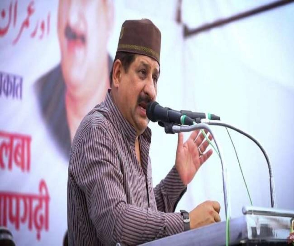 Case registered against Congress' Arif Masood by police for hurting religious sentiments