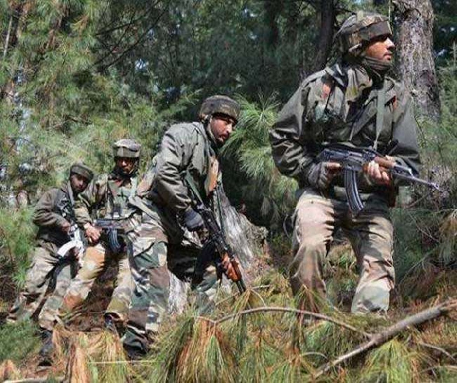 Indian Army foils Infiltration bid in J&K: 4 security personnel martyred, 3 terrorists killed