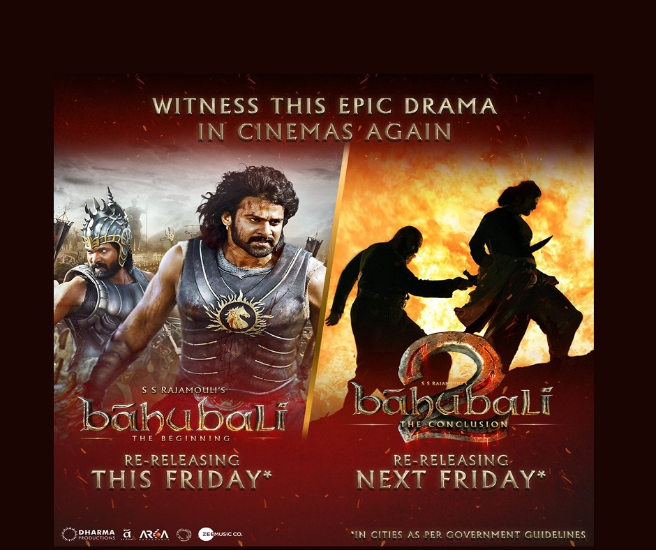 Baahubali in cinemas again: SS Rajamouli's super-duper hit periodic drama duology is all set to re-release on this date