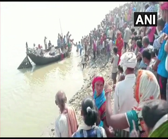 1 dead, seven missing after boat with over 100 people capsized in Bihar's Bhagalpur