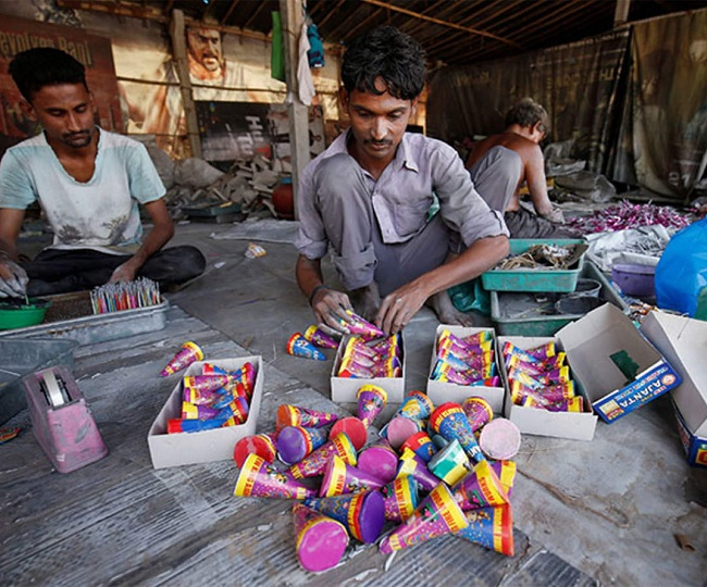 NGT announces blanket ban on firecrackers in Delhi NCR, other pollution-hit cities till Nov 30