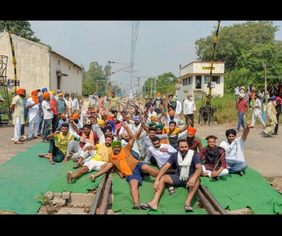 'Agitation will resume if talks don't progress': Punjab farmers allow trains to resume from Monday