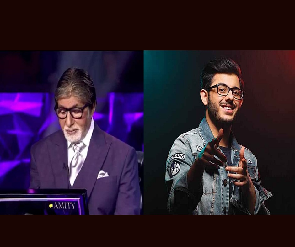 KBC 12: Fans go gaga over the KBC question based on CarryMinati, here's what 'Computer ji' asked