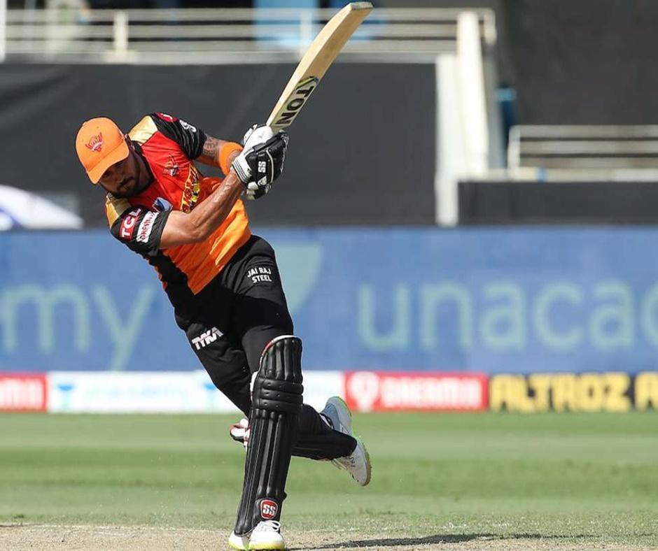 IPL 2020: SRH's Manish Pandey just 59 runs short of THIS milestone against Mumbai Indians