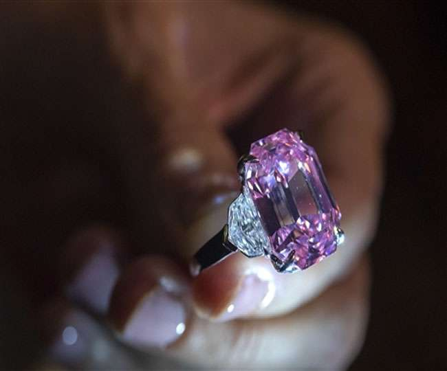 World's largest vivid-pink diamond could fetch $38 million at auction in Geneva this month