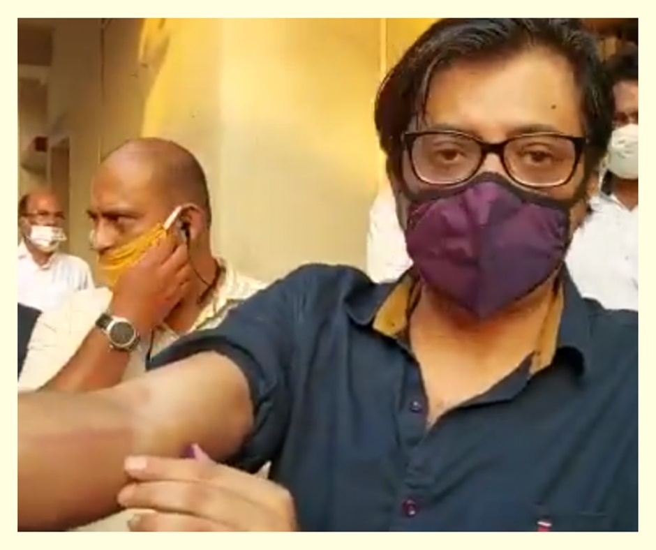 Republic TV editor Arnab Goswami remanded to 14-day judicial custody in 2018 suicide abetment case
