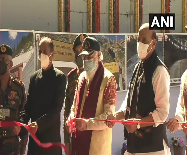 PM Modi inaugurates strategically important Atal Tunnel, calls it 'new lifeline for Ladakh'
