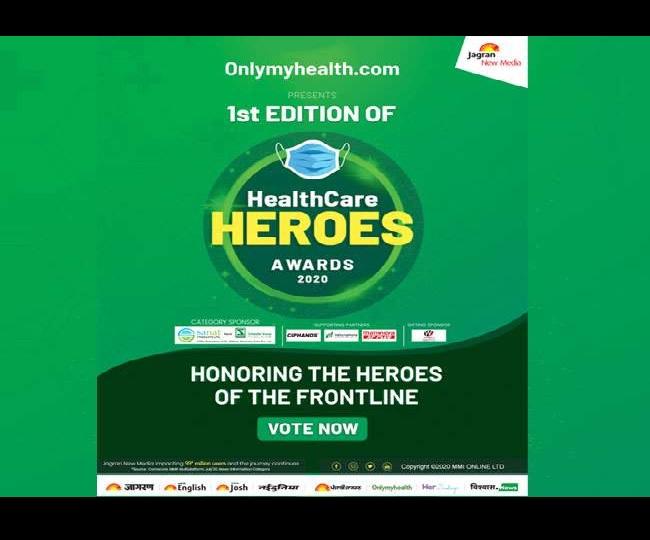 Jagran New Media's Onlymyhealth.com organises HealthCare Heroes Awards 2020 to honour Corona Warriors
