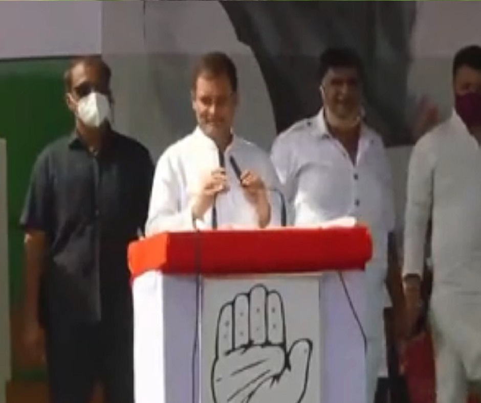 'Unlike in UP, Punjab, Rajasthan govts are not denying girl was raped': Rahul Gandhi hits back at BJP