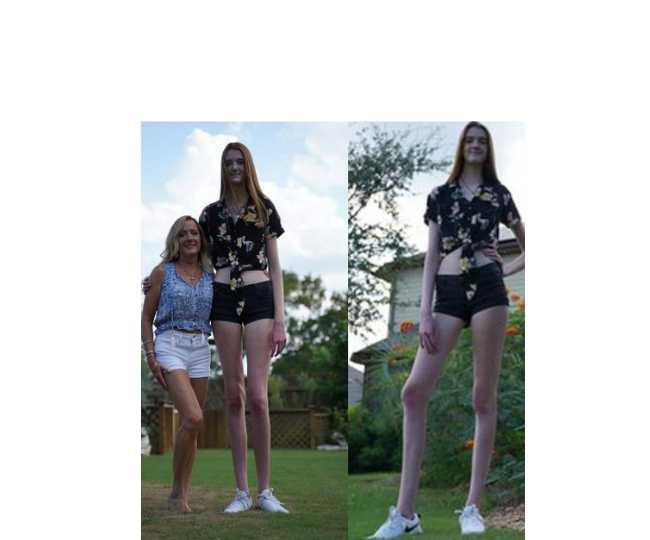 Meet Maci Currin, the 17-Year-Old who has world's longest female legs