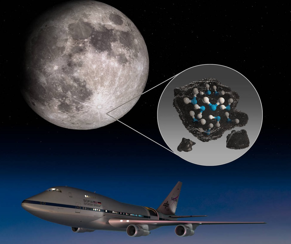 NASA's SOFIA confirms water on Moon's sunlit surface for first time; may be used for drinking in future