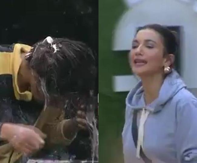Bigg Boss 14 Precap, October 9, 2020: Eijaz, Sara spoil Nikki Tamboli's makeup, torture her as she fights for immunity; Gauahar backs her | Watch