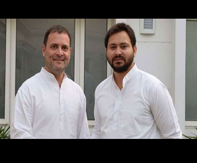 Bihar Assembly Election 2020: Tejashwi Yadav to be Grand Alliance's CM face as RJD gets lion's share of 144 seats, Congress gets 70