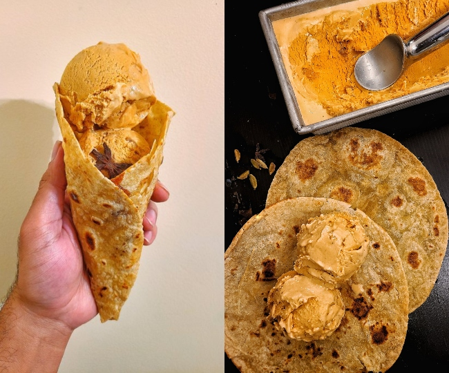 Want to grab a bite of this masala chai ice cream with sugarlaced parantha? Netizens want to Ctrl+Alt+Del this dish from their memory