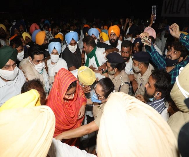 SAD President Sukhbir Singh Badal, Harsimrat Badal arrested in Punjab over protest against farm acts