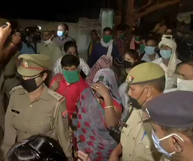 Hathras victim's family members leave for Lucknow, to appear before Allahabad Court
