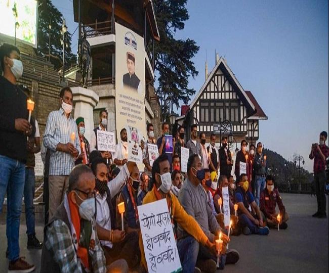 Hathras Case: UP CM Yogi Adityanath orders CBI probe as Rahul Gandhi, Priyanka meet victim's family