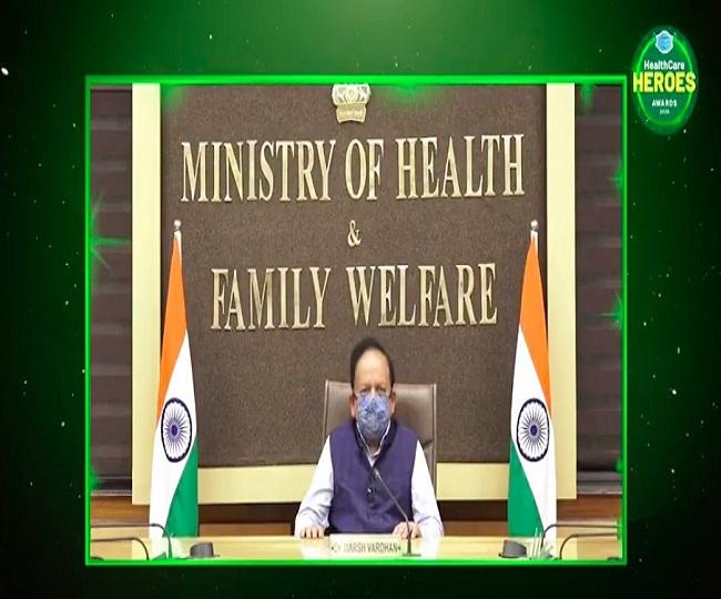 'I salute Corona Warriors': Health Minister Dr Harsh Vardhan thanks Jagran New Media for organising HealthCare Heroes Awards 2020