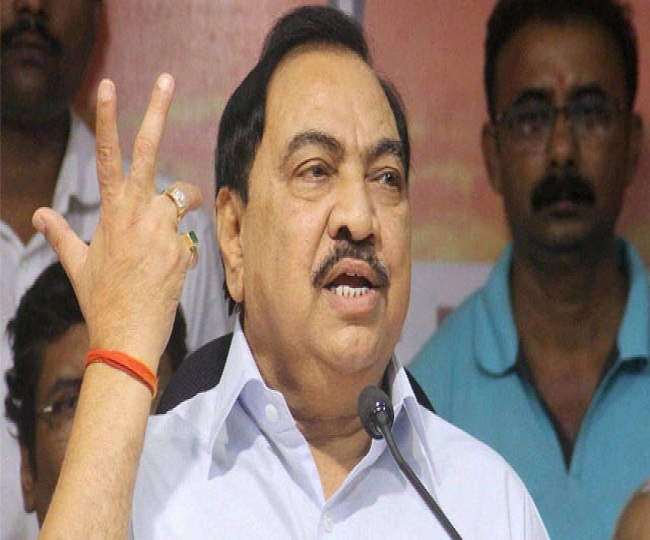 'Unhappy only with Fadnavis': Eknath Khadse dumps BJP to shift loyalty to NCP after months of discontent