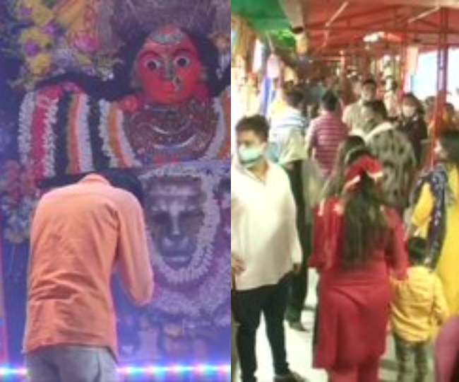 In pics | Navratri 2020: Devotees across India throng temples on day 1 of Navratri