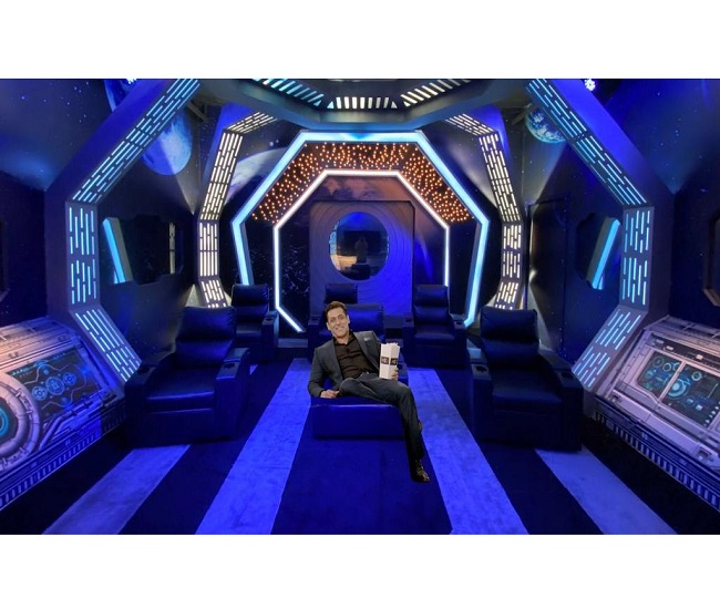 Bigg Boss Season 14: Ahead of grand premiere, host Salman Khan shares his COVID-19 special look from the set