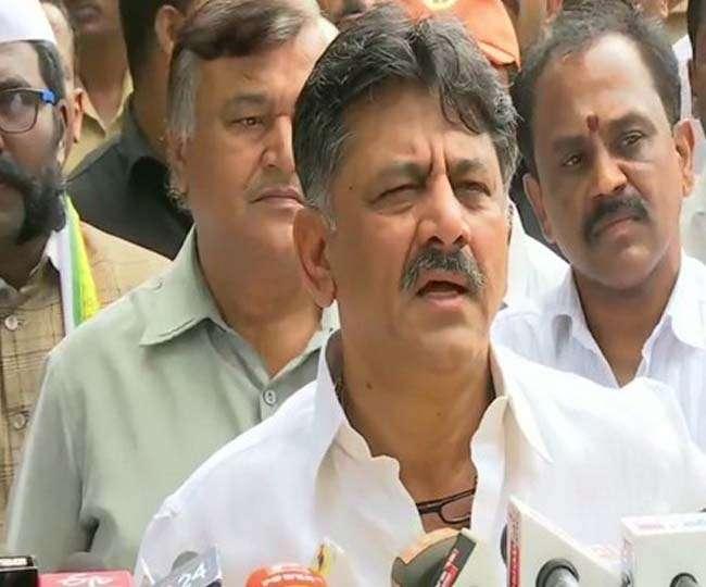 Disproportionate Assets Case: CBI recovers Rs 50 lakh during raids at multiple premises of Congress leader DK Shivakumar
