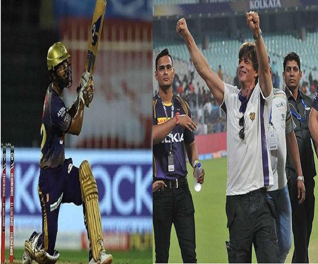 IPL 2020, KKR vs CSK: Shah Rukh Khan cheers Rahul Tripathi with his iconic dialogue as KKR opener gets Man of the Match | Watch