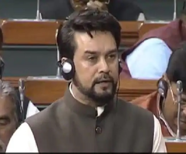 Anurag Thakur says 'pained' if his Nehru-Gandhi remarks hurt anybody's sentiments