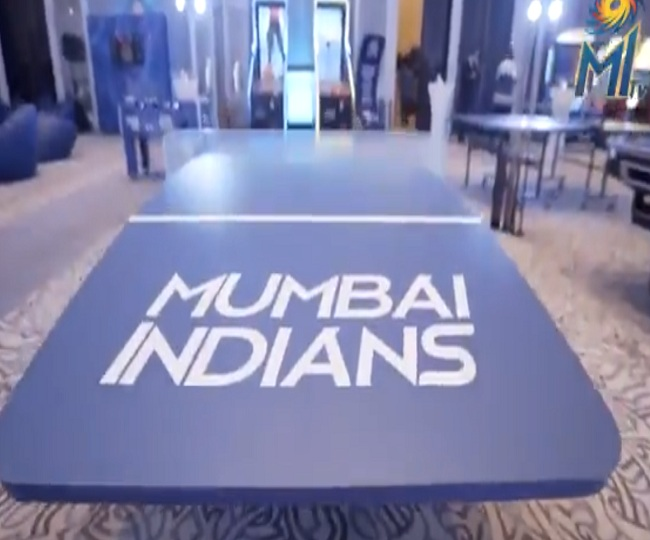 IPL 2020: Mumbai Indians' new team room for tournament will take your breath away | Watch