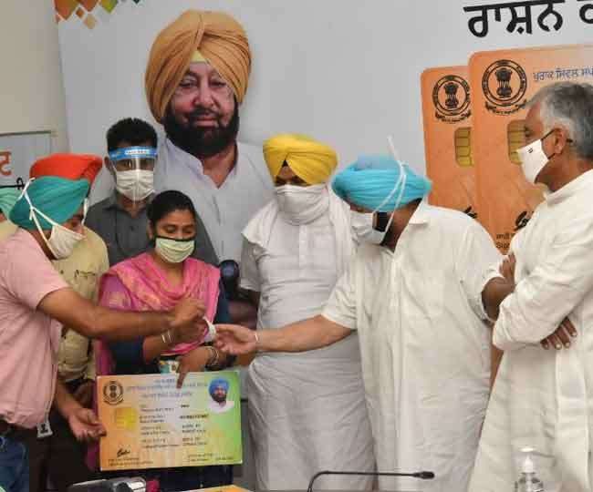Nine lakh people to get subsidised ration as Punjab announces separate scheme for those left out in NFSA