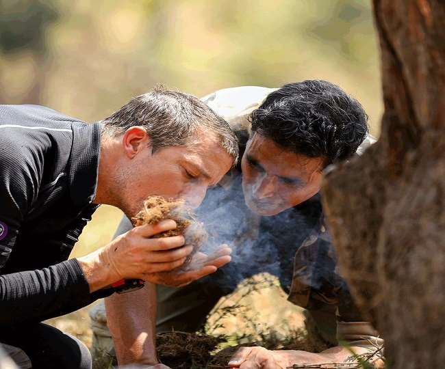 I drank cow urine everyday, reveals Akshay Kumar during Insta live with Bear Grylls