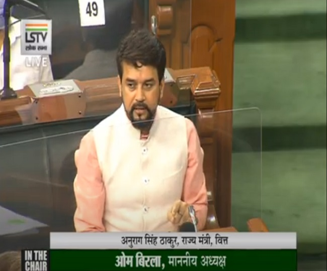 Parliament Monsoon Session: LS adjourned amid Oppn's protests over Anurag Thakur's Nehru-Gandhi remark   Highlights