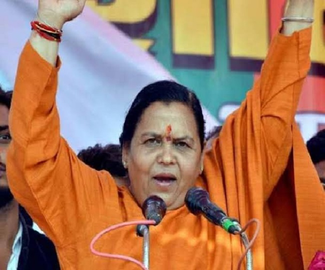 BJP leader Uma Bharti found Covid positive, goes into self-isolation