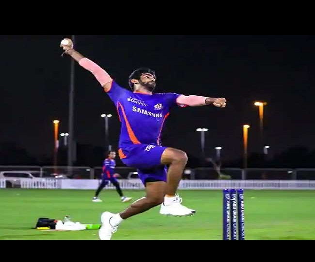 Can you guess names of bowlers Jasprit Bumrah is imitating during training session? | Watch video here