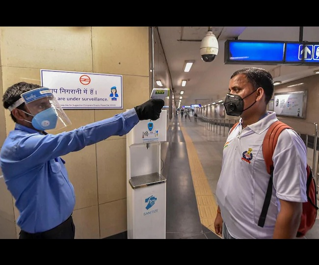 114 commuters fined for violating Covid-19 norms as all Delhi Metro lines become functional
