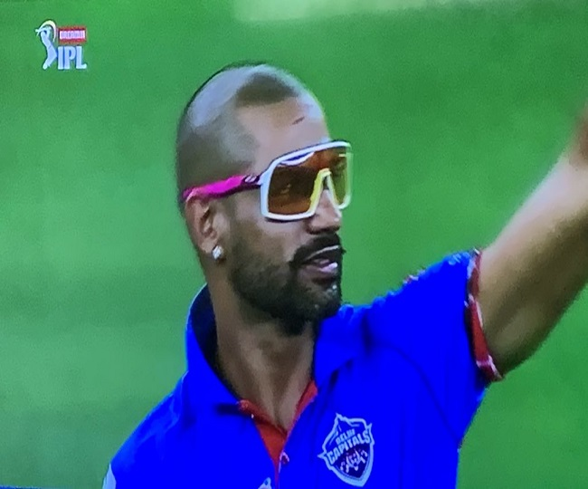 IPL 2020, DC vs CSK | 'From Ranveer Singh may be!': Netizens go ROFL as Shikhar Dhawan wears 'unique' night glasses