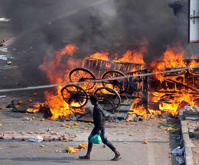 Delhi riots: Police file 10,000-page chargesheet against 15 accused